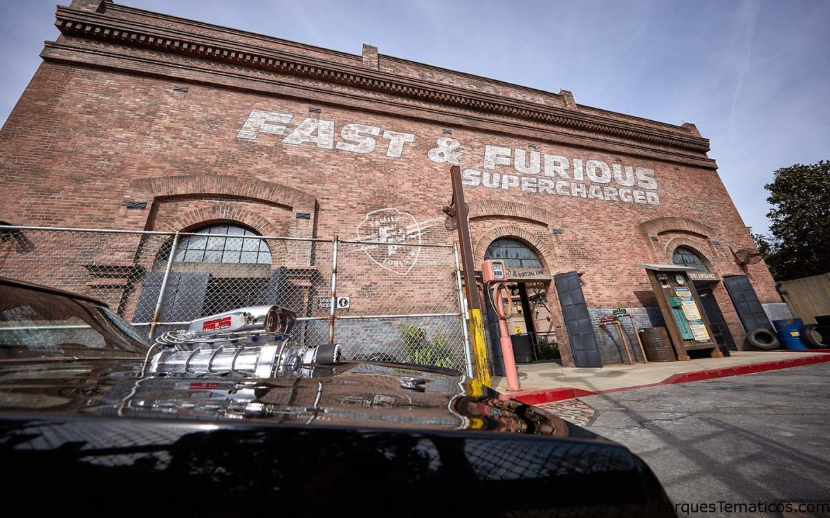 Fotos exclusivas de  Fast & Furious – Supercharged en Universal Orlando