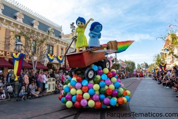 Hoja de citas: Pixar Fest en el Disneyland Resort