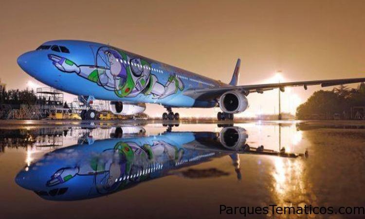 El primer avión temático de Disney Pixar