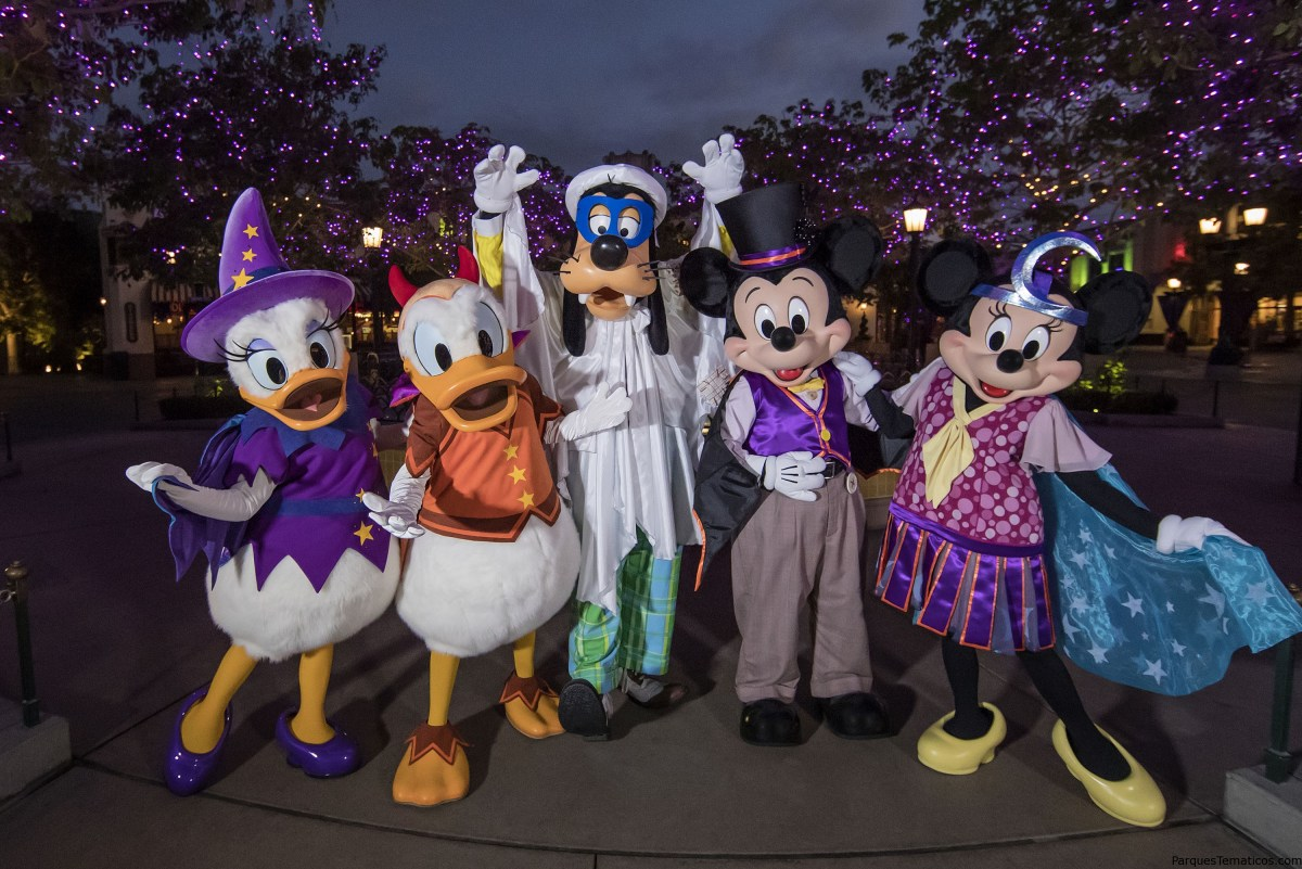 Halloween Time en Disneyland Resort 2018