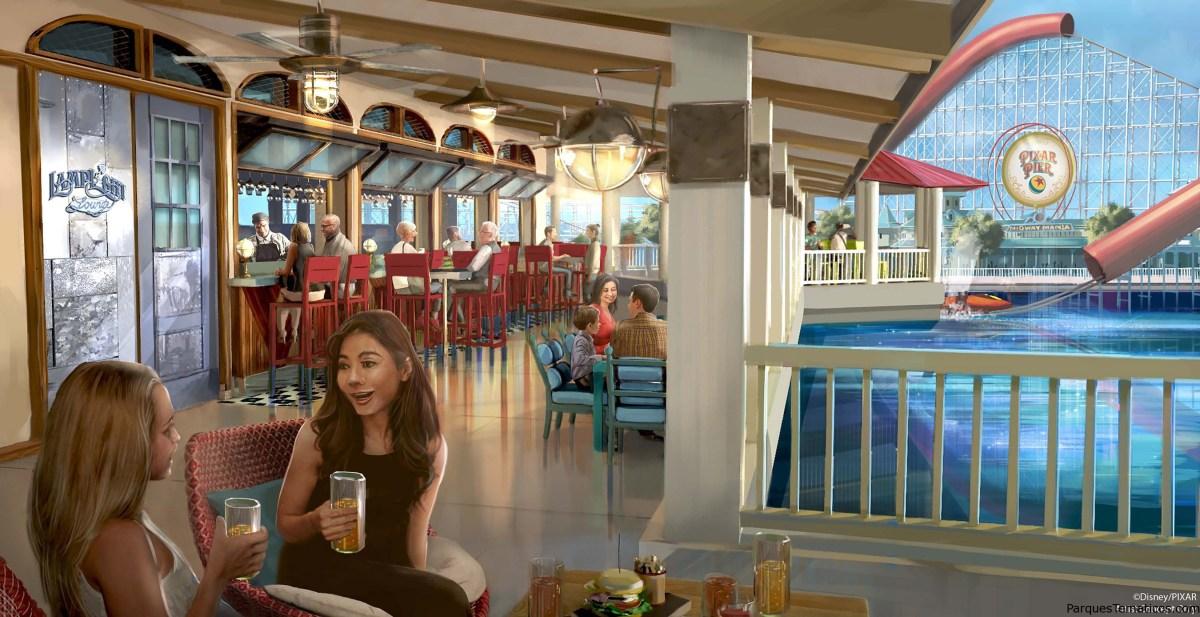 Disneyland Resort sirve comida y bebida con un toque Pixar en la nueva area reimaginada Pixar Pier