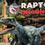 BLUE EL VELOCIRAPTOR SE UNE AL 'RAPTOR ENCOUNTER'