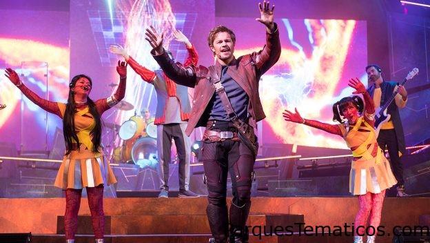 Nuevo show en Epcot  de Guardianes de la Galaxia
