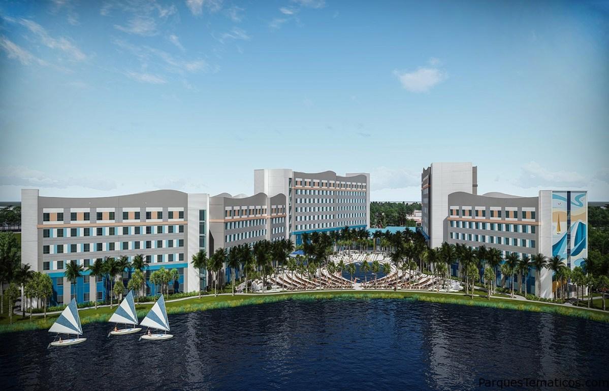 Ya aceptan reservas los nuevos hoteles económicos de Universal Orlando