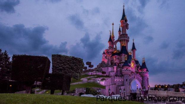 Disney After Dark Nighttime en el Castillo de la Bella Durmiente en Disneyland París