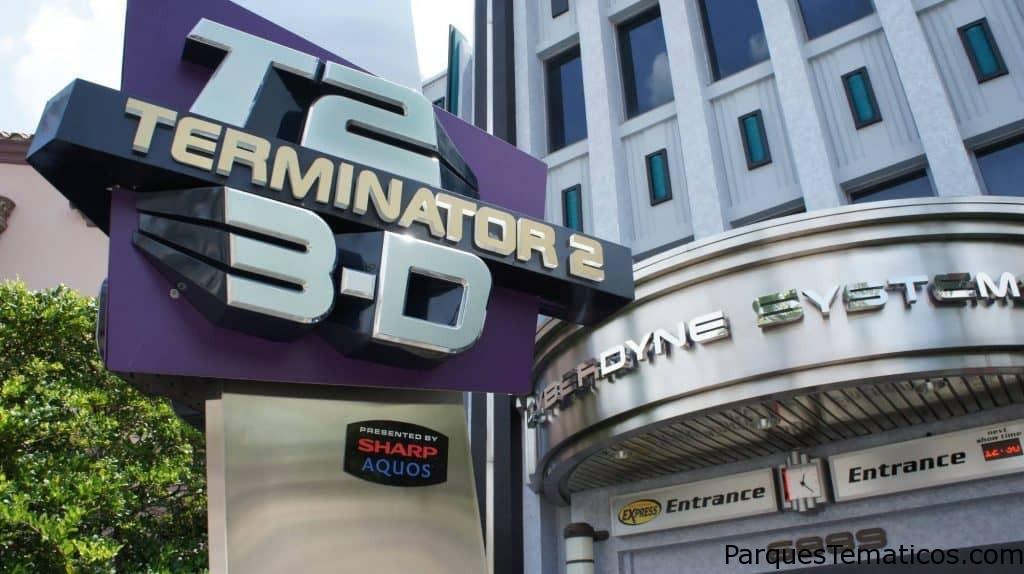 Reemplazo de Terminator 2 en 3D
