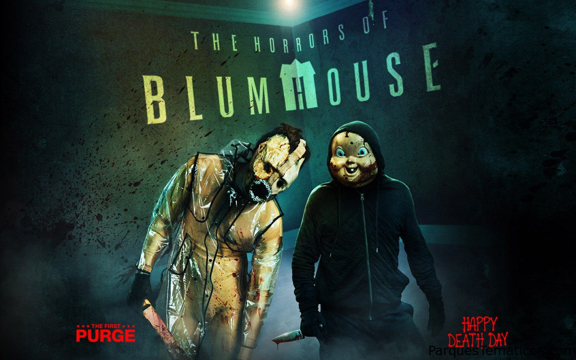 The Horros of Blumhouse vuelve a Halloween Horror Nigths para otro año de sustos