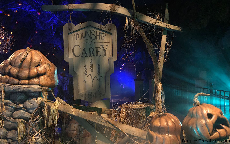 Secretos escondidos en Halloween Horror Nights 2018