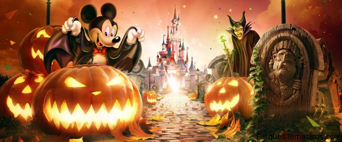 Halloween para pasarlo de miedo en Disneyland Paris celebrando 90 años de diversión con Mickey