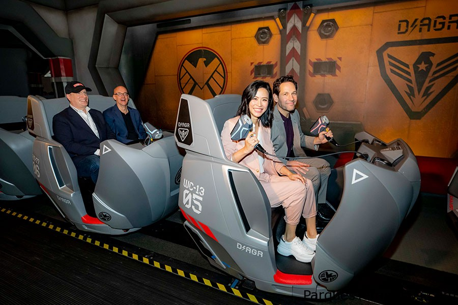 Ant-Man and The Wasp: Nano Battle! en Hong Kong Disneyland