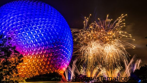 Vive el fabuloso y renovado espectáculo en Epcot 'IllumiNations: Reflections of Earth'