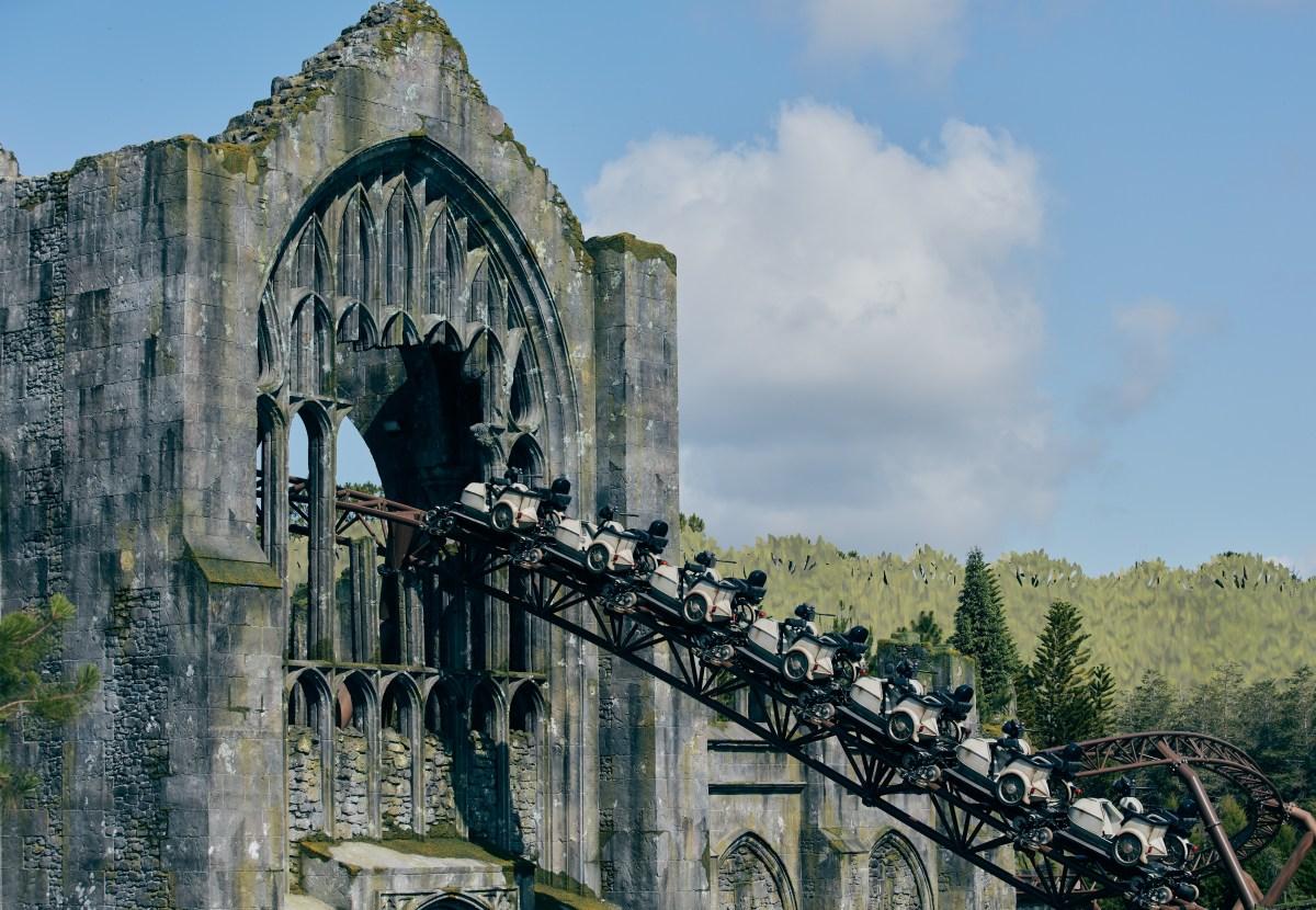 La montaña rusa más innovadora Hagrid's Magical Creatures Motorbike Adventure