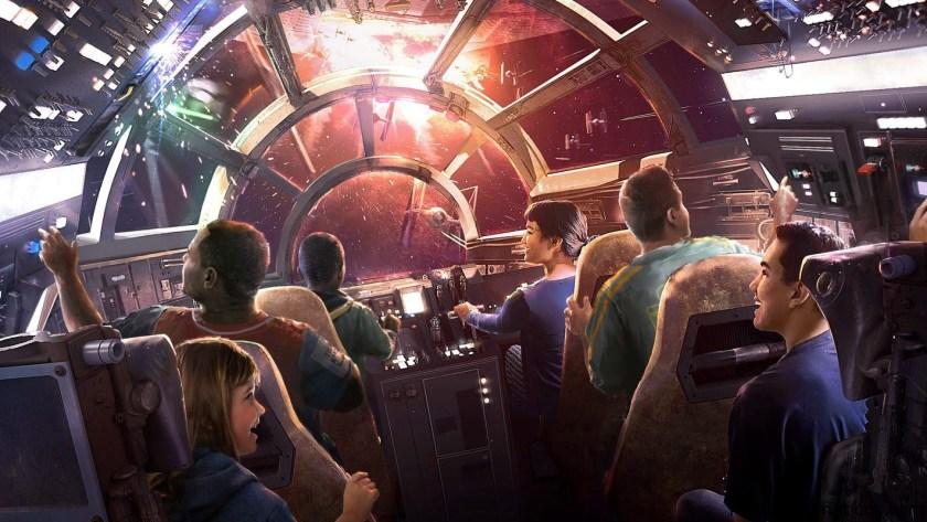 Star Wars: Galaxy's Edge hace historia con debuts épicos el 31 de mayo de 2019 en Disneyland Park y el 29 de agosto en Disney's Hollywood Studios en Florida
