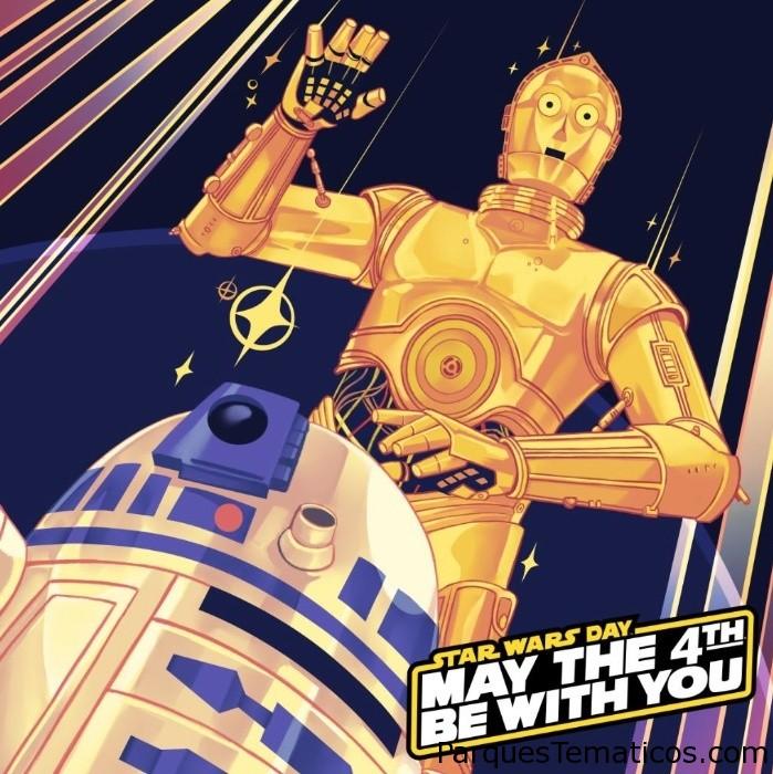 Día de Star Wars, Mayo 4, que la fuerza te acompañe