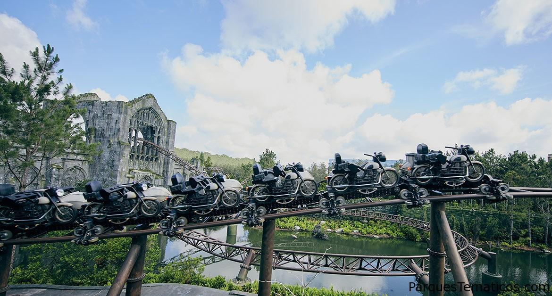 Detalles de Hagrid´s Magical Creatures Motorbike Adventure