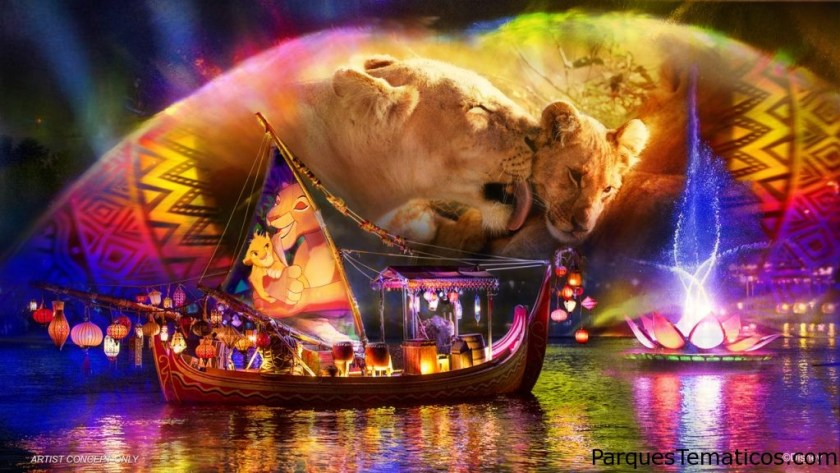 Disney's Animal Kingdom Lights Up at Night