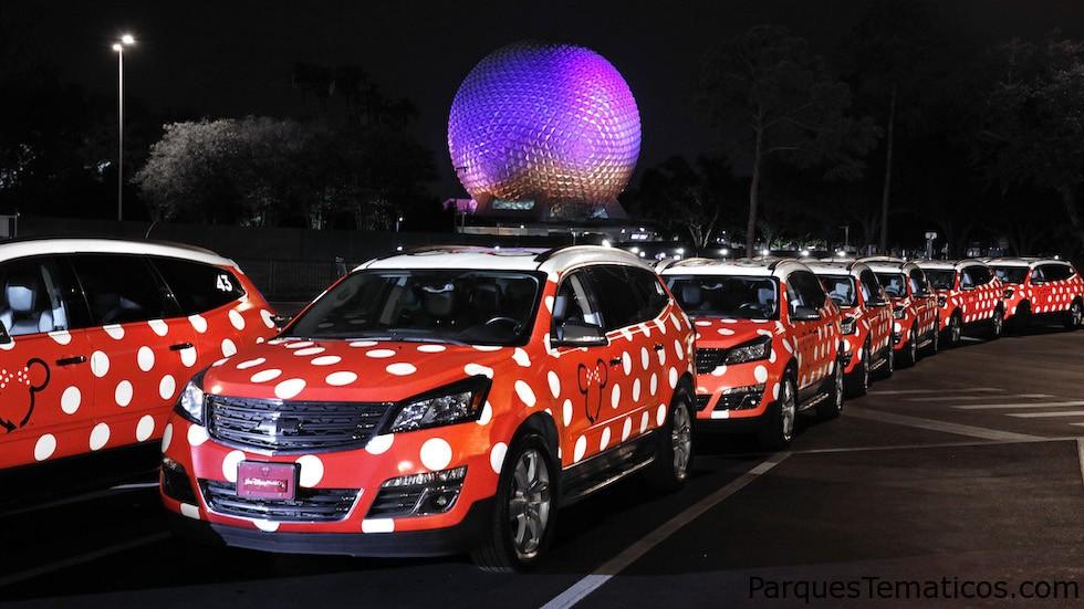 Lyft ahora es el servicio oficial de viaje en Disney Parks, con sus Minnie Vans