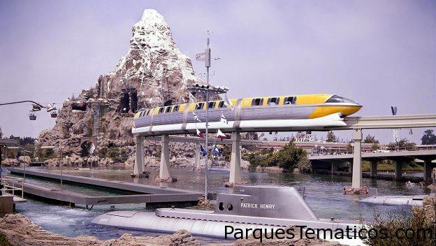 Recuerdos de 1959 en Disneylandia en su aniversario