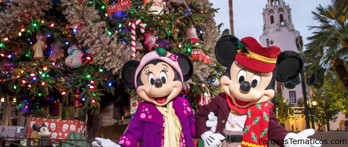 Nieve en Disneyland del 8 de noviembre de 2019 al 6 de enero de 2020
