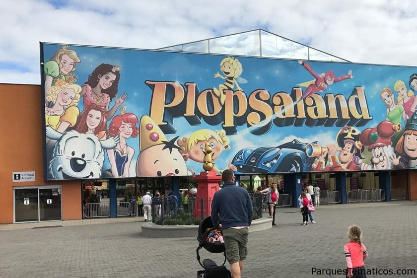Entrada al parque Plopsaland De Panne