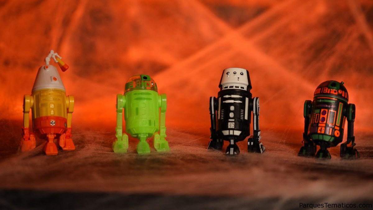 Los droides con temática de Halloween super divertidos