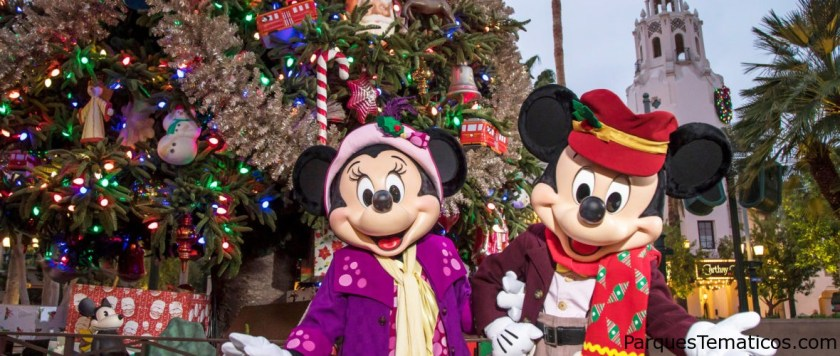 Novedades: Disney Festival of Holidays presenta la celebración del personaje 'Mickey's Happy Holidays' en el parque Disney California Adventure; Disney Holiday Dance Party presenta personajes de Disney en el parque Disneyland
