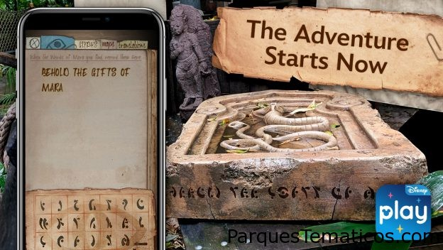 La experiencia 'Indiana Jones Adventure – The Gifts of Mara' ahora disponible en la App Play Disney Parks en Disneylandia