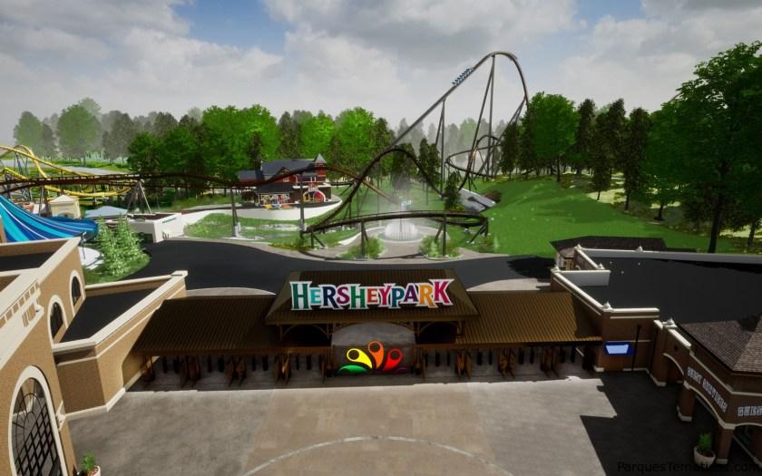 Hersheypark Candymonium 2020