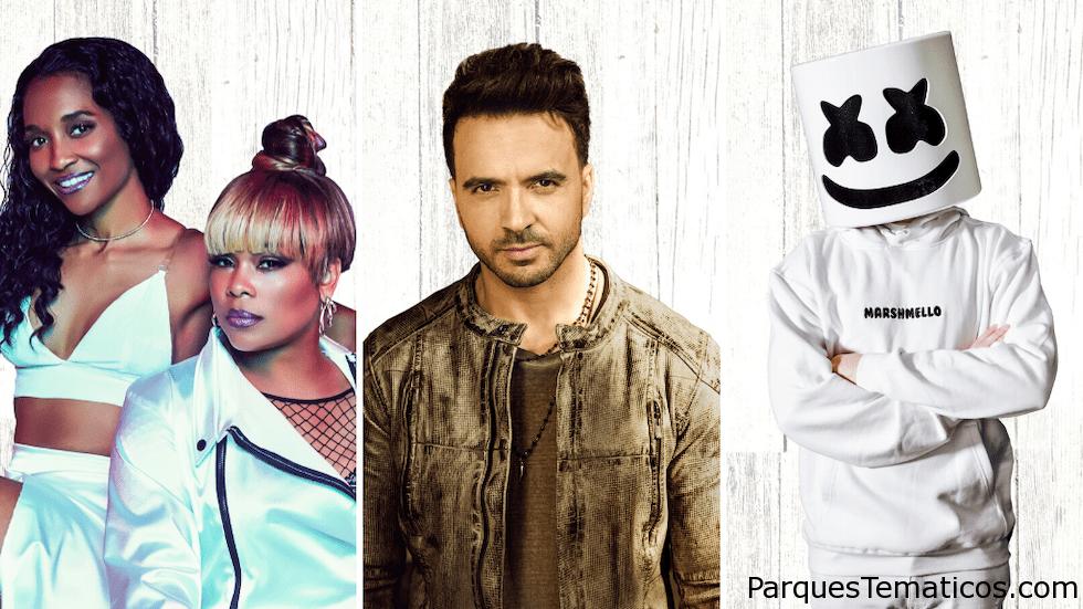 Marshmello, Luis Fonsi, TLC y más se presentarán en Mardi Gras 2020 en Universal Orlando