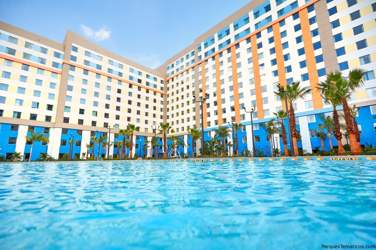 Primer Vistazo del nuevo Universal's Endless Summer Resort Dockside Inn and Suites