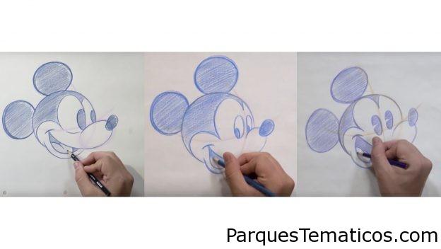 Dibuja a Mickey Mouse en casa con un artista de los parques de Disney