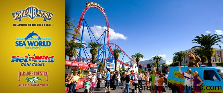 Los parques temáticos de Village Roadshow están abiertos en Australia