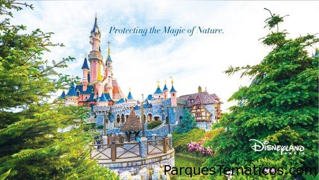 Disneyland Paris protege la magia de la naturaleza a través de esfuerzos ambientales y de biodiversidad
