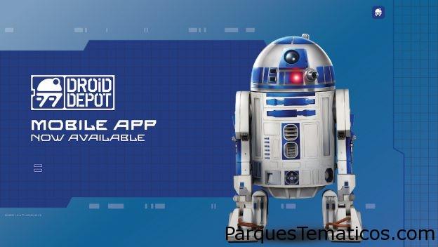La nueva aplicación Droid Depot traeStar WarsGalaxy's Edge a la vida en casa