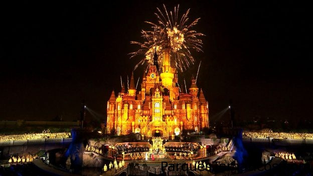 Disney Magic Moments gala de inauguración de 2016 de Shanghai Disney Resort