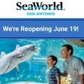 SeaWorld San Antonio reabrirá el 19 de junio