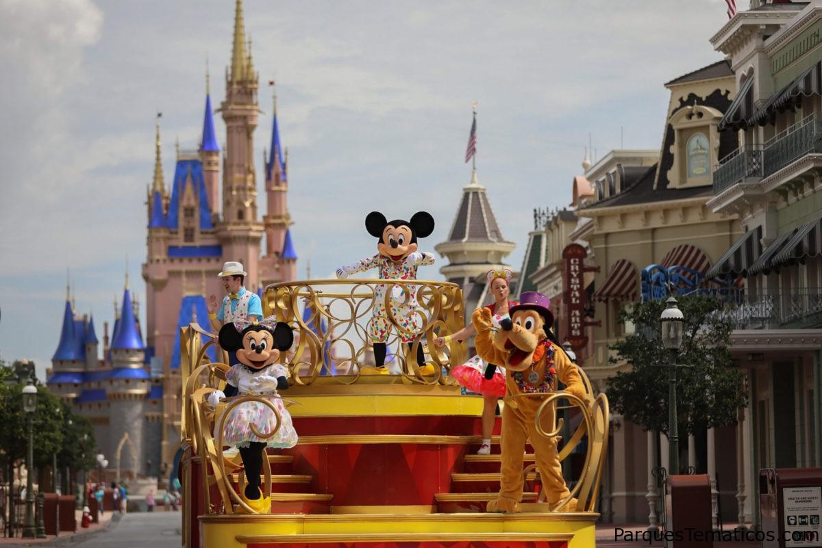 Los huéspedes verán a los personajes de nuevas maneras y nuevos lugares cuando los parques temáticos de Walt Disney World Resort vuelvan a abrir