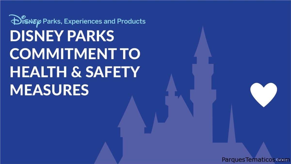 Compromiso de Parques de Disney con medidas de salud y seguridad