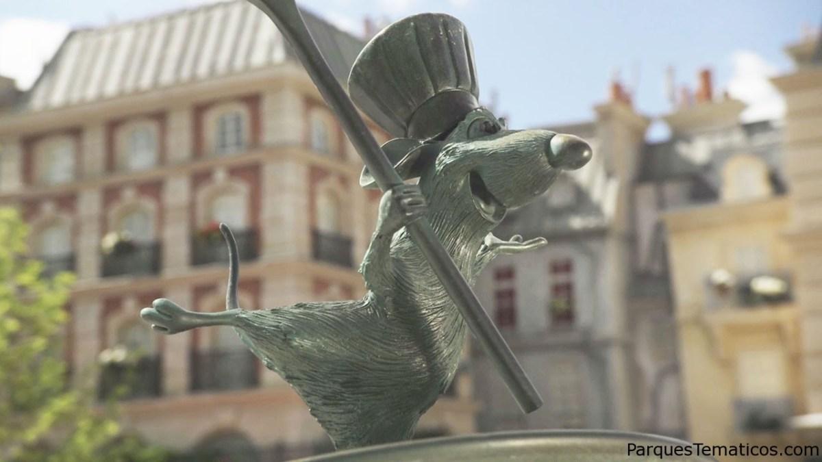 Viaje junto a Ratatouille en una aventura en el parque Walt Disney Studios en París