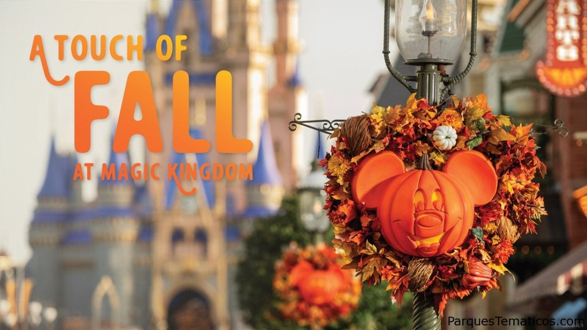 Diversión otoñal en Magic Kingdom Park en Halloween 2020
