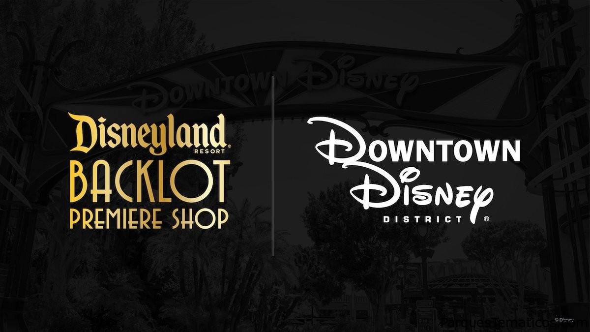 Artículos de Halloween en la nueva tienda de estreno de Backlot de Disneylandia en Downtown Disney