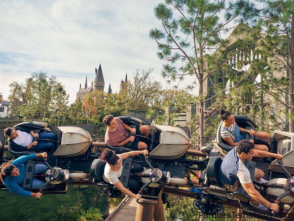 Guía para Hagrid's Magical Creatures Motorbike Adventure en Universal Orlando