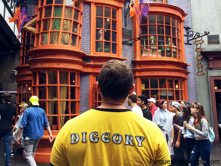 Guía de Hufflepuff sobre el mundo mágico de Harry Potter en Universal