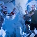 Detrás de los sustos con Yeti el Terror de Yukon en Halloween Horror Nights