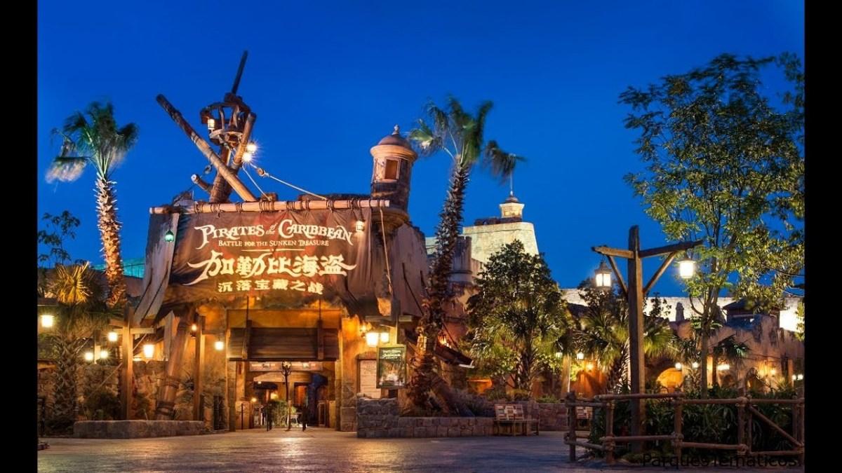 Zarpe con Piratas del Caribe y batalle por el tesoro hundido en Shanghai Disneyland