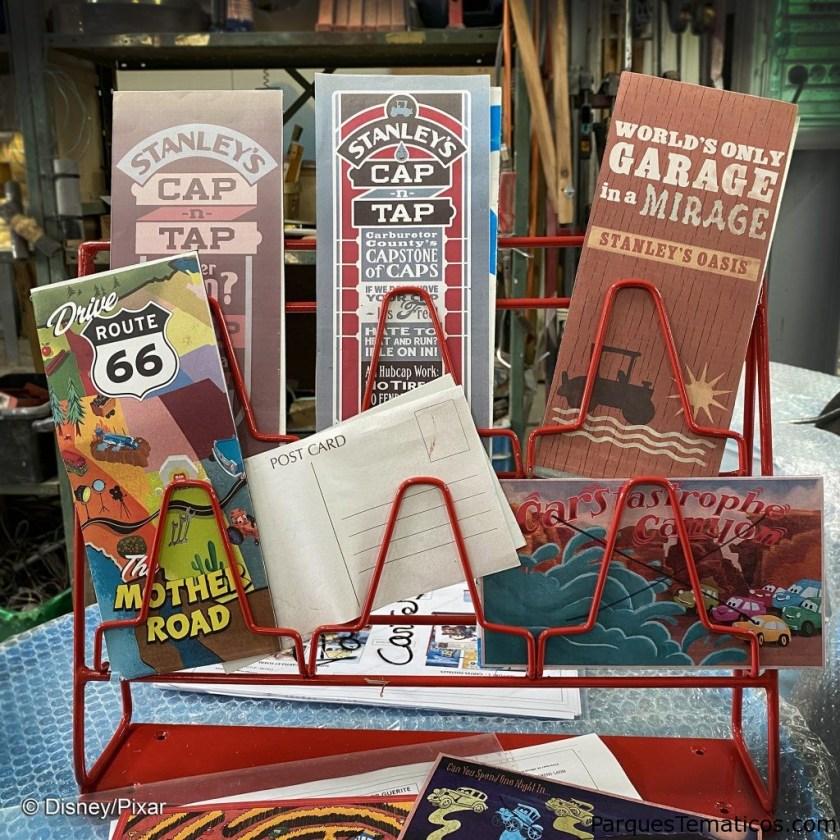 Nuevos detalles de Cars Route 66 Road Trip que llega a Disneylandia Paris