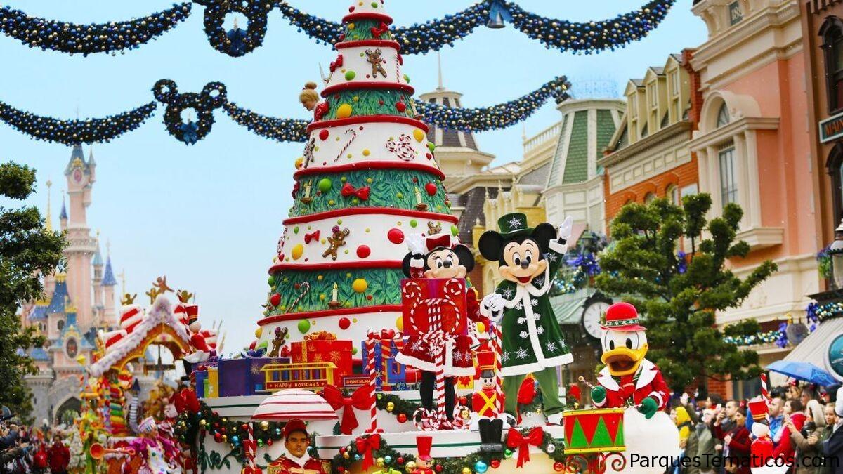 Navidad en Disneyland Paris 2020 suspendida