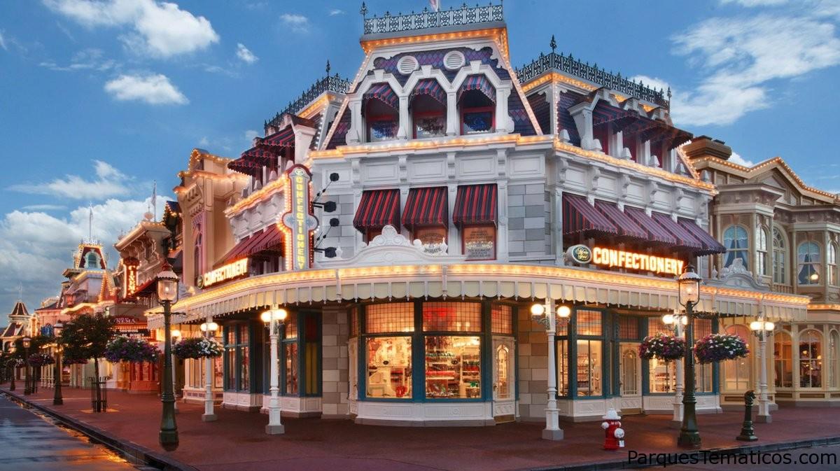 Nueva apariencia para la confitería de Main Street en el Parque Temático Magic Kingdom