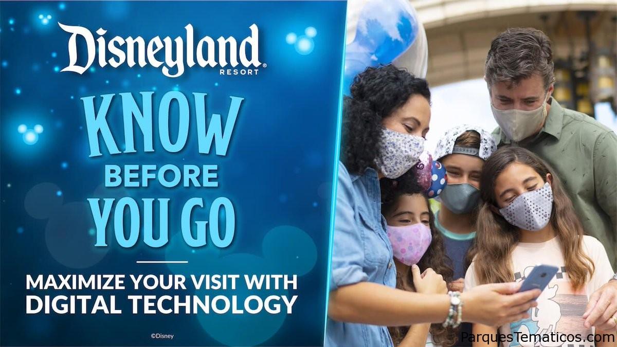 10 formas de utilizar la tecnología digital para aprovechar al máximo su próxima visita a Disneylandia