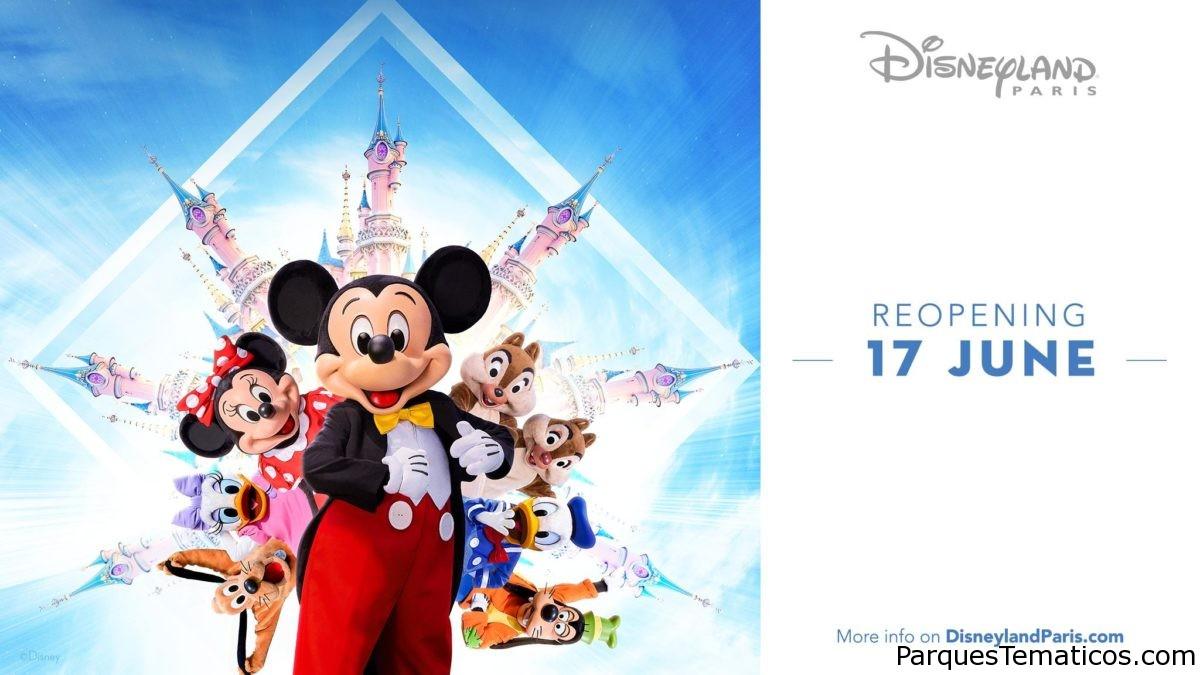 Reapertura de Disneyland Paris